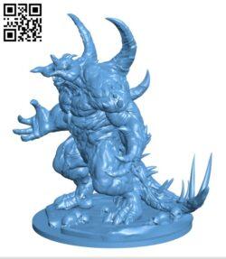 Diablo H000474 file stl free download 3D Model for CNC and 3d printer