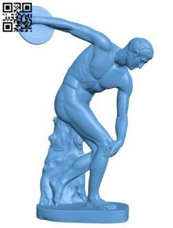 Discobolus H000333 file stl free download 3D Model for CNC and 3d printer