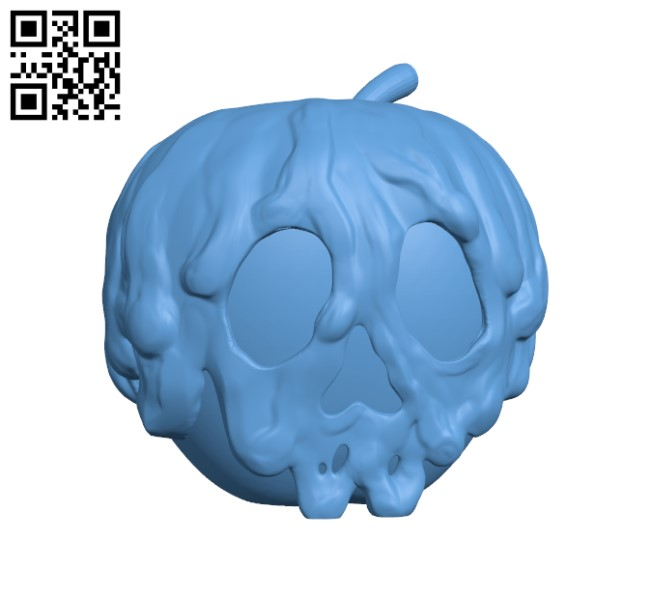 Disney Poison Apple H000305 file stl free download 3D Model for CNC and 3d printer