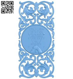 Door pattern A006616 download free stl files 3d model for CNC wood carving