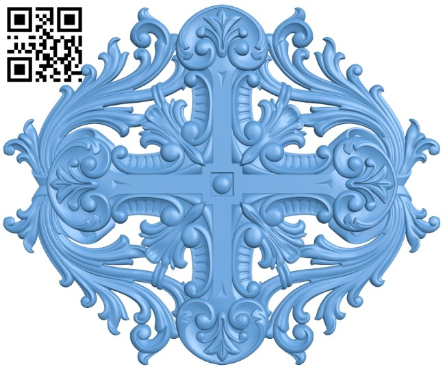 Door pattern A006618 download free stl files 3d model for CNC wood carving