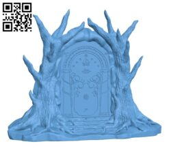 Doors of Durin H000431 file stl free download 3D Model for CNC and 3d printer