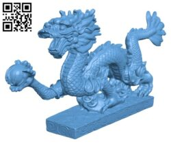 Dragon H000475 file stl free download 3D Model for CNC and 3d printer