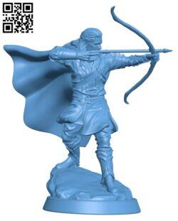 Elven Prince H000139 file stl free download 3D Model for CNC and 3d printer