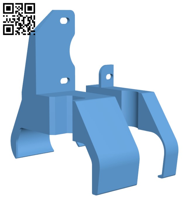 Flying Bear Ghost 5 direct mount - Rac H000365 file stl free download 3D Model for CNC and 3d printer