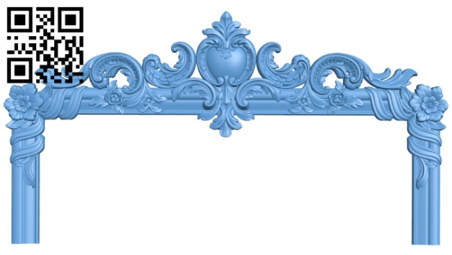 Frame pattern A006582 download free stl files 3d model for CNC wood carving