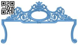 Frame pattern A006583 download free stl files 3d model for CNC wood carving