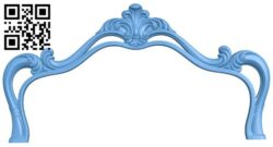 Frame pattern A006584 download free stl files 3d model for CNC wood carving