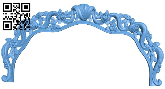Frame pattern A006585 download free stl files 3d model for CNC wood carving