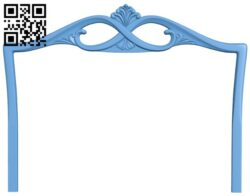 Frame pattern A006586 download free stl files 3d model for CNC wood carving