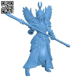 Free Guard- Women H000116 file stl free download 3D Model for CNC and 3d printer