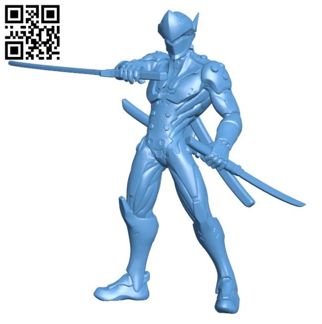 Genji H000005 file stl free download 3D Model for CNC and 3d printer
