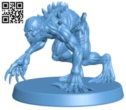 Ghoul & 5E Supplement H000117 file stl free download 3D Model for CNC and 3d printer