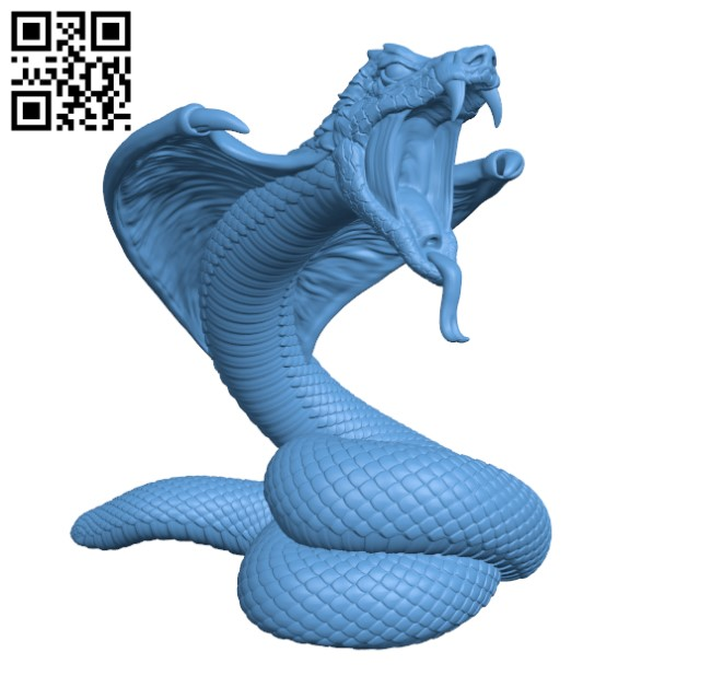Giant Snake H000437 file stl free download 3D Model for CNC and 3d printer