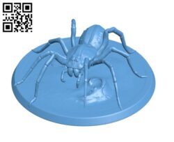 Giant Spider H000233 file stl free download 3D Model for CNC and 3d printer