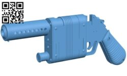 Gun SW Episode 7 B009623 file stl free download 3D Model for CNC and 3d printer