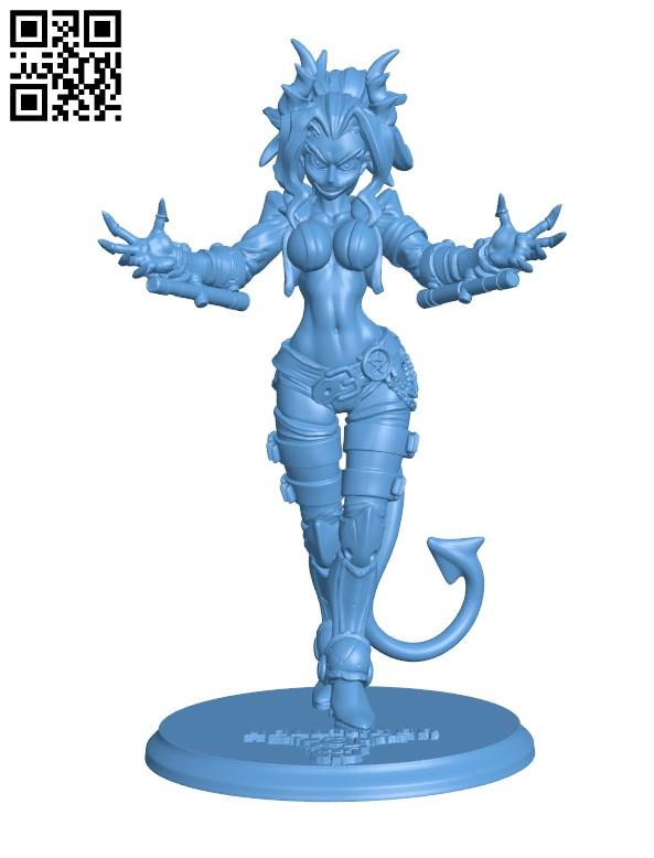 Helltaker H000084 file stl free download 3D Model for CNC and 3d printer