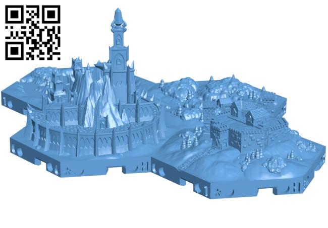 Hexton Hills H000267 file stl free download 3D Model for CNC and 3d printer