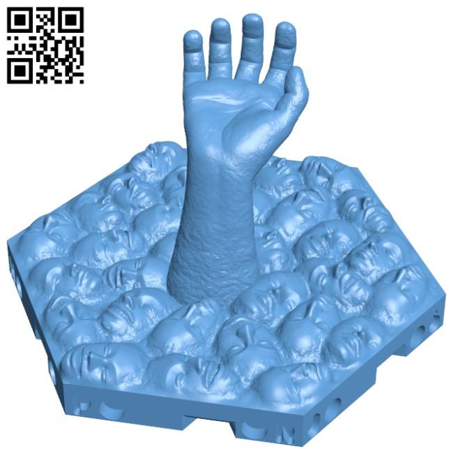 Hexton Hills - Kentaro Miura Tribute H000085 file stl free download 3D Model for CNC and 3d printer