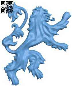 House Lannister Game of Thrones H000065 file stl free download 3D Model for CNC and 3d printer