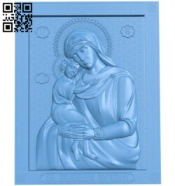 Icon of the Perished A006561 download free stl files 3d model for CNC wood carving