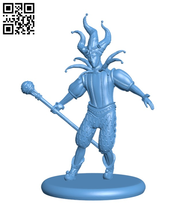 Jester H000459 file stl free download 3D Model for CNC and 3d printer