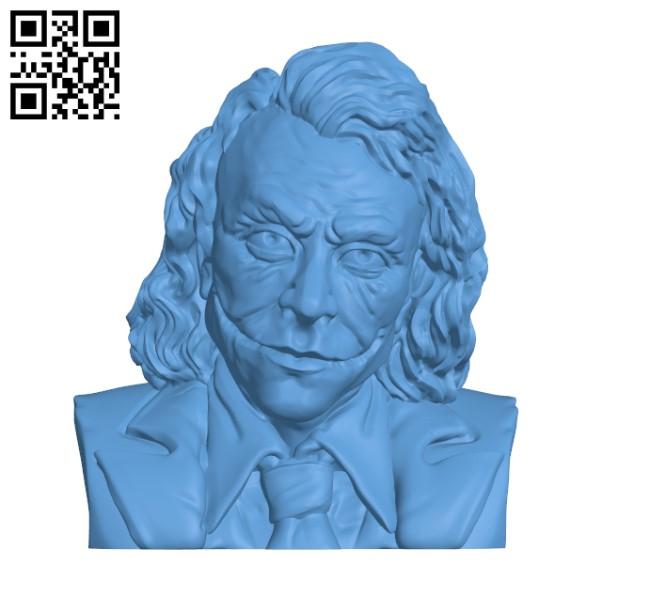 Joker H000269 file stl free download 3D Model for CNC and 3d printer
