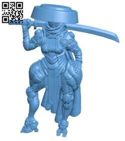 Kazumi- From Wasteland H000343 file stl free download 3D Model for CNC and 3d printer