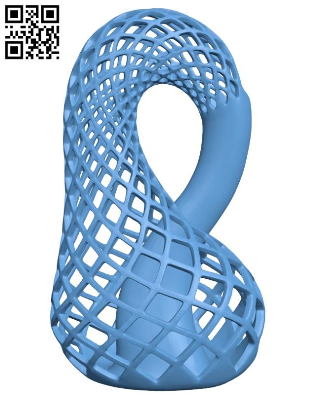 Klein Vase H000306 file stl free download 3D Model for CNC and 3d printer