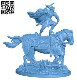 Lancelot H000177 file stl free download 3D Model for CNC and 3d printer