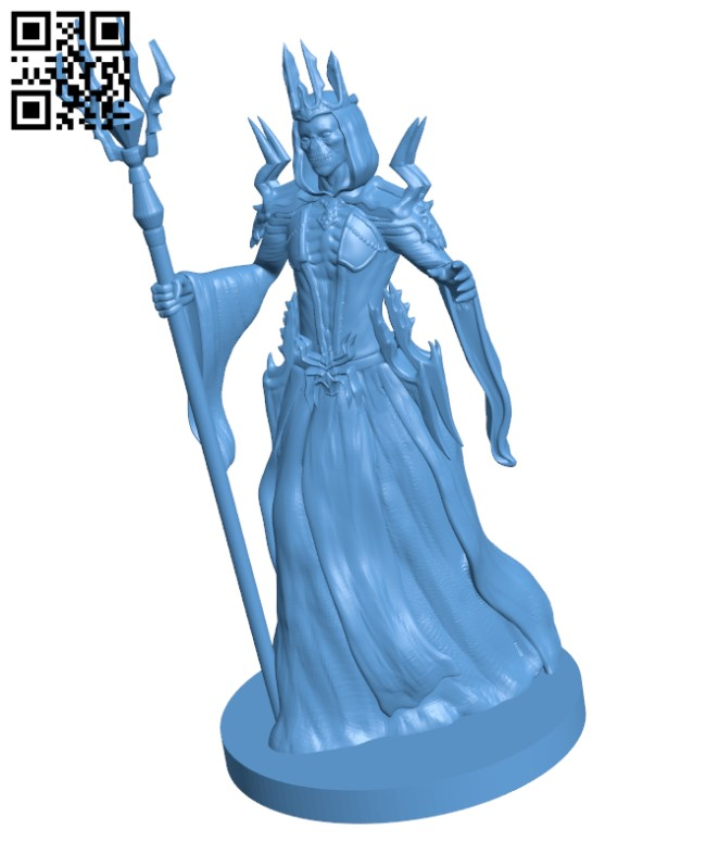Lich H000280 file stl free download 3D Model for CNC and 3d printer