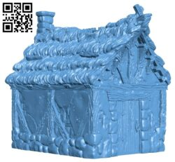 Little Cottage H000123 file stl free download 3D Model for CNC and 3d printer
