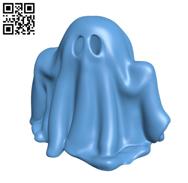 Little Ghost H000271 file stl free download 3D Model for CNC and 3d printer