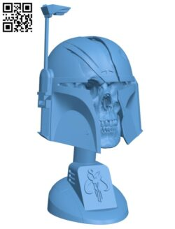 Mandalorian Trophy H000309 file stl free download 3D Model for CNC and 3d printer