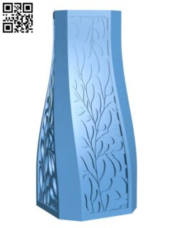 Marble Ivy Vase H000374 file stl free download 3D Model for CNC and 3d printer