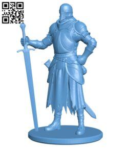 Medival Knight H000282 file stl free download 3D Model for CNC and 3d printer