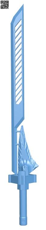 Mini Bolt-Caster sword from Destiny H000067 file stl free download 3D Model for CNC and 3d printer