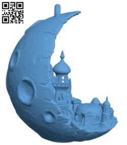 Moon City H000150 file stl free download 3D Model for CNC and 3d printer