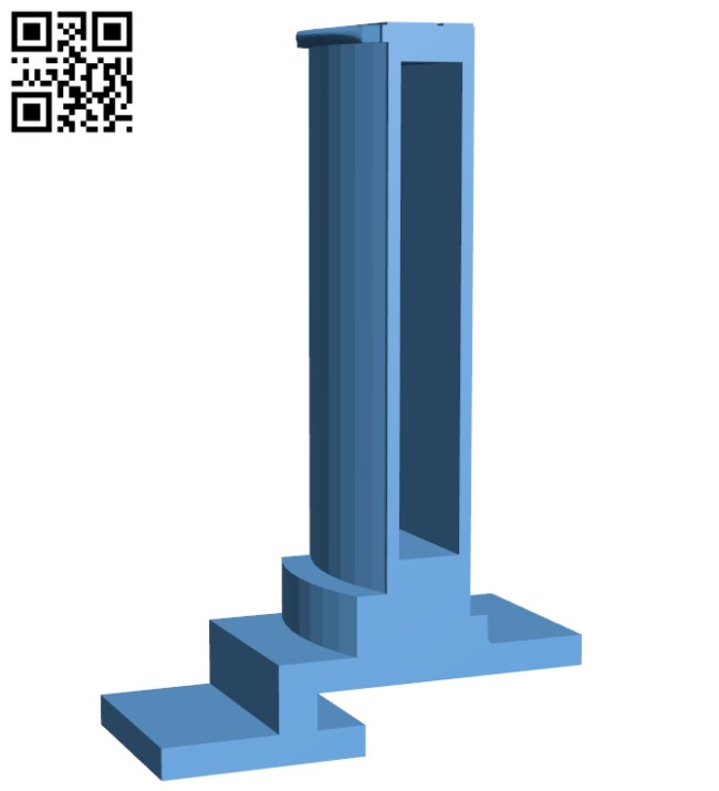 My Mini Factory spool holder for Makerbot Eye H000035 file stl free download 3D Model for CNC and 3d printer