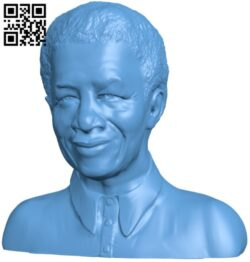 Nelson Mandela H000009 file stl free download 3D Model for CNC and 3d printer