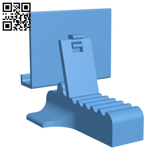 Nintendo Switch - Adjustable Stand H000462 file stl free download 3D Model for CNC and 3d printer