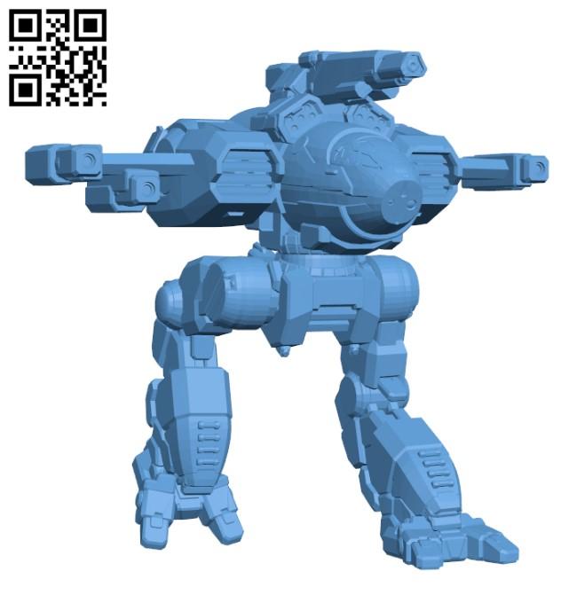 OSP-26 Osprey BN Edition for Battletech - Robot H000410 file stl free download 3D Model for CNC and 3d printer