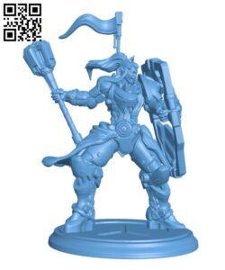 Overwatch – Brigitte H000375 file stl free download 3D Model for CNC and 3d printer