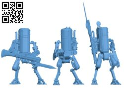 PZM-7 Smialy- Robot H000465 file stl free download 3D Model for CNC and 3d printer