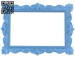 Picture frame or mirror A006571 download free stl files 3d model for CNC wood carving
