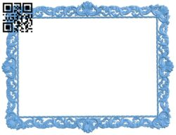 Picture frame or mirror A006574 download free stl files 3d model for CNC wood carving