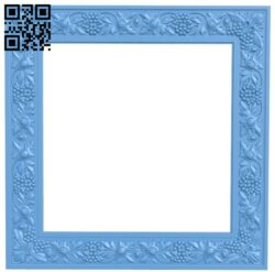 Picture frame or mirror A006575 download free stl files 3d model for CNC wood carving