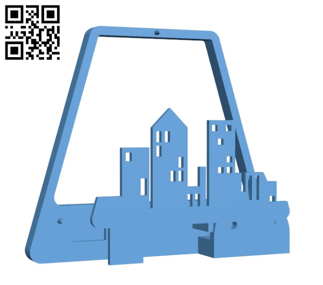 Polaroid Style Wall Lamp H000036 file stl free download 3D Model for CNC and 3d printer