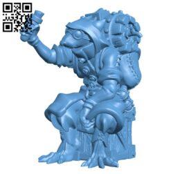 Ratkin ratfolk skaven alchemist H000288 file stl free download 3D Model for CNC and 3d printer