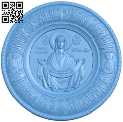 Religious painting A006562 download free stl files 3d model for CNC wood carving